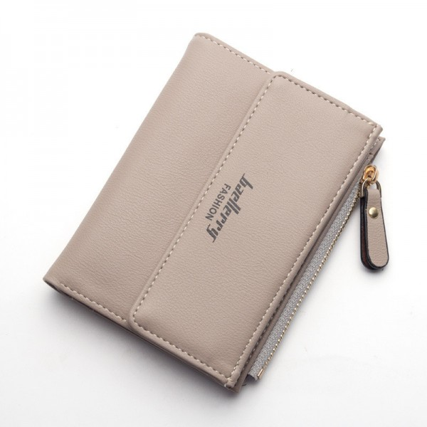 Small Wallets Tassel Pendant Short Money Wallets PU Leather Lady Zipper Coin Pocket Purses Female Card Bag