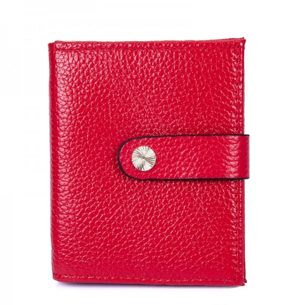 Solid Color Genuine Leather Bifold Wallet Purse Short Wallet for Men Hasp Males Wallet Card Holder Purse Extra Image 3