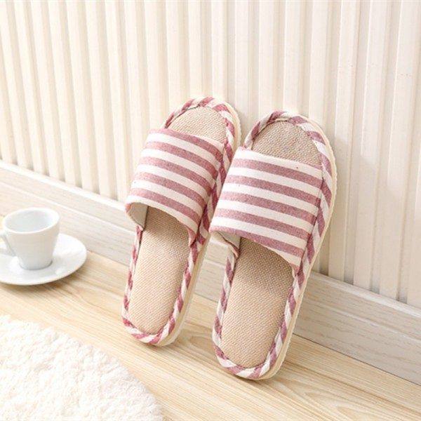 28a0233b8 ... Spring Home Slippers Women Slides House Flip Flops Indoor Flats Couple  Shoes Summer Anti Skid Soft ...