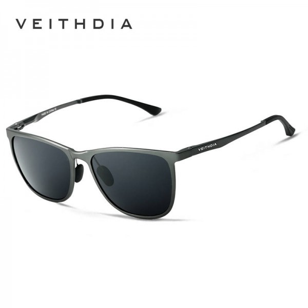 Square Vintage Sunglasses For Women From Viethdia Polarized Photochromic UV400 Aluminium Frame Shades Extra Image 2