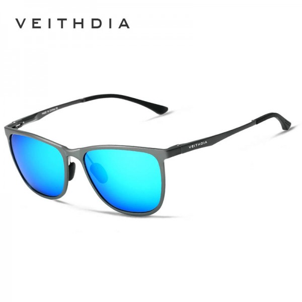 Square Vintage Sunglasses For Women From Viethdia Polarized Photochromic UV400 Aluminium Frame Shades Extra Image 4