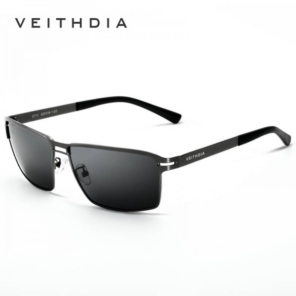 Stainless Steel Polarized Sunglasses For Men And Women, High Quality UV400 Male Eye Accessories Sun Shades Extra Image 3