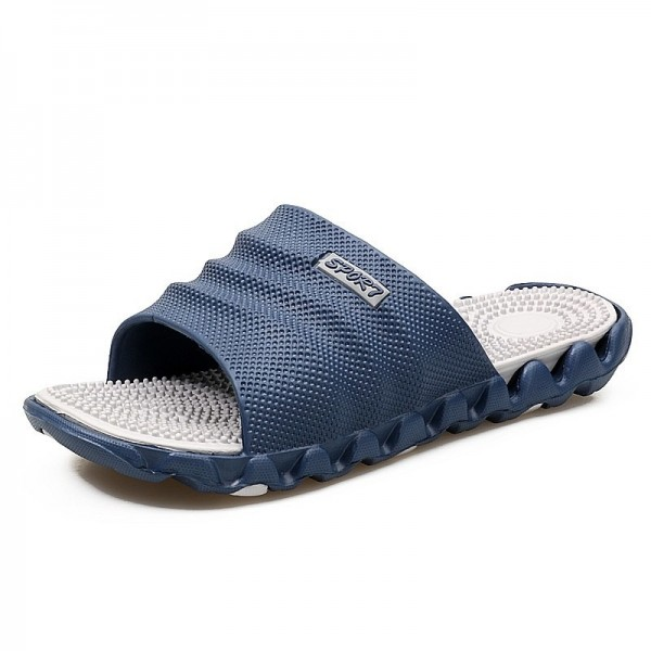 Summer Slippers Men Casual Shoes Sandals Leisure Soft Slides Eva Massage Beach Slippers Water Sandals Flip Flops