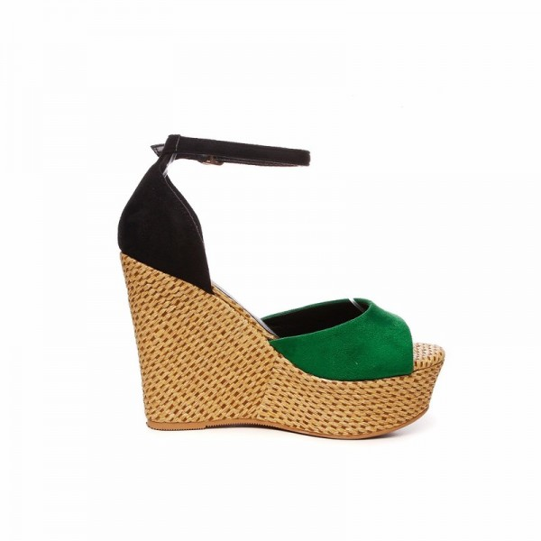 Summer Wedges Women Sandals Casual Open Toe High Heels Shoes Woman Fashion Sexy Platform Ankle Strap Lady Sandal Extra Image 3