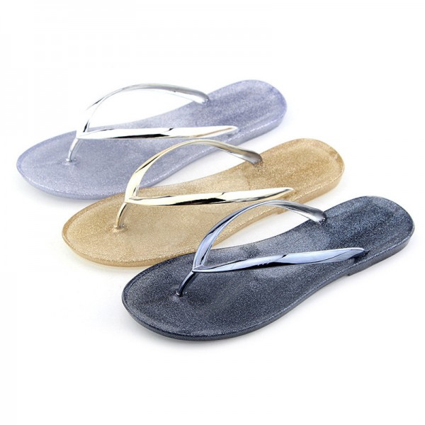 Summer Women Jelly Flip Flops Slides Beach Slippers Sapatos Femininos Women Shoes Sandalias Zapatillas Mujer Extra Image 4