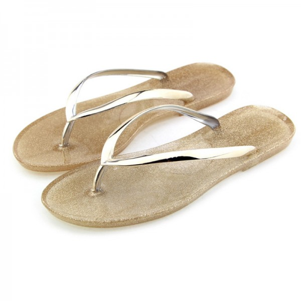 Summer Women Jelly Flip Flops Slides Beach Slippers Sapatos Femininos Women Shoes Sandalias Zapatillas Mujer Extra Image 5
