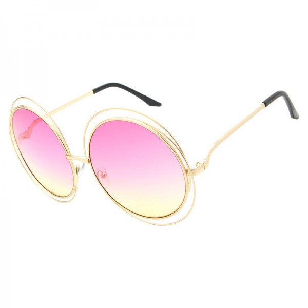 Sunglasses For Round Faces High Quality Elegant Oversized Eye Glasses Designer UV400 Polarized Shades Extra Image 5