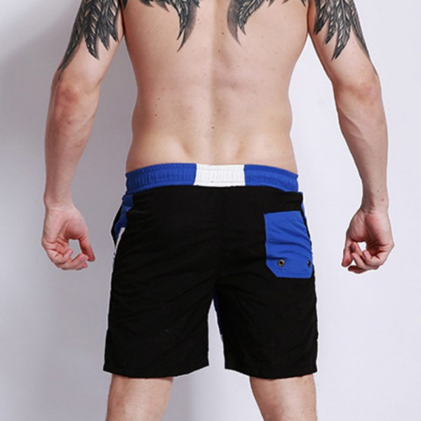 Surfing Beach Shorts Boardshorts Patchwork Nylon Bermuda Surf Swim Short Pants Quick Dry Silver Pink Swimwear Male Extra Image 3