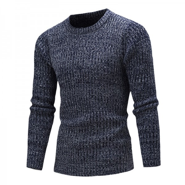 Sweater Pullover Men Male Brand Casual Solid Color Fashion Simple Sweaters Men Comfortable Hedging O Neck Men Sweater Extra Image 4