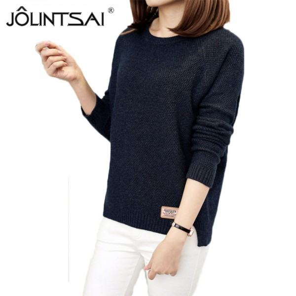 Sweater Women Knitted Pullover Female Winter O Neck Long Sleeve Women Sweaters And Pullovers Autumn Tops Pull Femme
