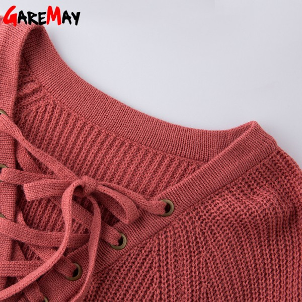 Sweater Women Pullover Slim Long Sleeve Knitted jumper Femme Sexy Tops Ladies Sweaters Knitwear Clothing For Women Extra Image 6