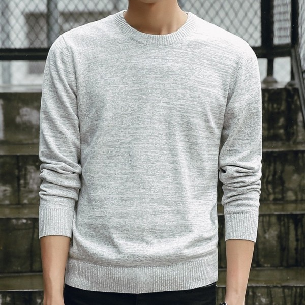 Sweaters Men New Fashion Casual O Neck Slim Cotton Knit Quality Men Sweaters And Pullovers Men Brand Clothing Plus Size Extra Image 2