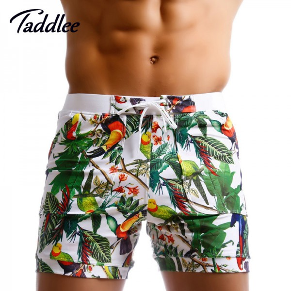 Taddlee Brand Men Swimwear Brazilian Cut Swimsuit Sexy Swimming Boxers Surfing Board Low Waist Trunks Gay Shorts