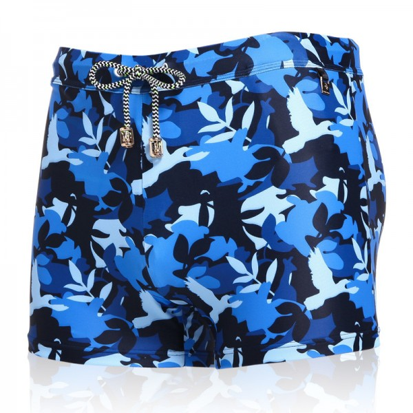 Taddlee Traditional Long Swimwear Mens Swimsuits New Designer Boxer Trunks For Males Classic Style Shorts Extra Image 2