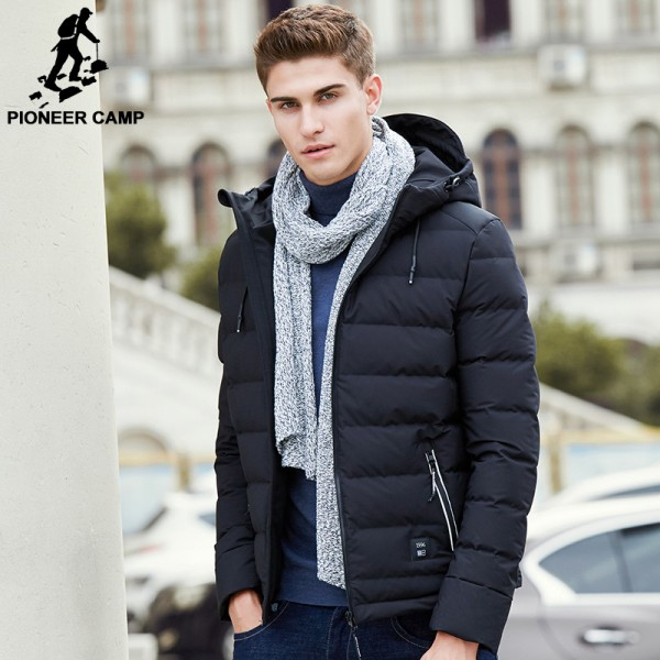 Thick down jacket men brand clothing winter down coat male top quality fashion casual warm down parkas for men Extra Image 1