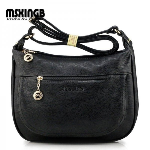 Top Quality Women Genuine Leather Handbags New Fashion Women Messenger Bags Crossbody Shoulder Bags Thumbnail