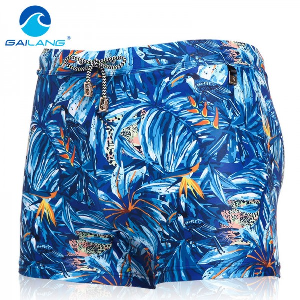 Traditional Basic Long Mens Swimwear Surf Board Trunks Swim Boxers Beach Style Shorts Summer Trunks For Men Extra Image 2
