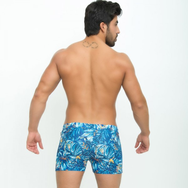 Traditional Basic Long Mens Swimwear Surf Board Trunks Swim Boxers Beach Style Shorts Summer Trunks For Men Extra Image 4