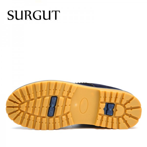 Unisex Winter Boots Comfortable Ankle Men Boots Quality Leather Footwear Warm Fur Casual Shoes Lover Couple Boots Extra Image 3