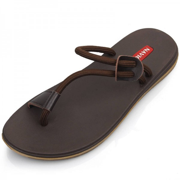 59411de55adb94 Vietnam Style Men Slippers Casual Walking Beach Style New Flip Flop For Men  Thumbnail ...