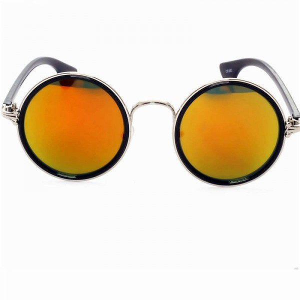 Vintage Round Cat Eye Male Female Sunglasses Round Polarized UV400 Plastic Frame High Quality Eye Accessories Extra Image 3