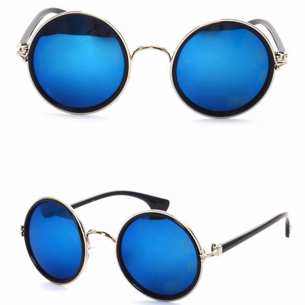 Vintage Round Cat Eye Male Female Sunglasses Round Polarized UV400 Plastic Frame High Quality Eye Accessories Extra Image 5