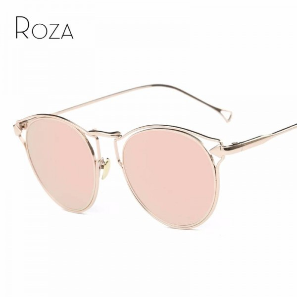 Vintage Steampunk Sunglasses Decorated UV400 Polarized Sunglasses Hollow Designer Sunglasses From Roza Extra Image 0