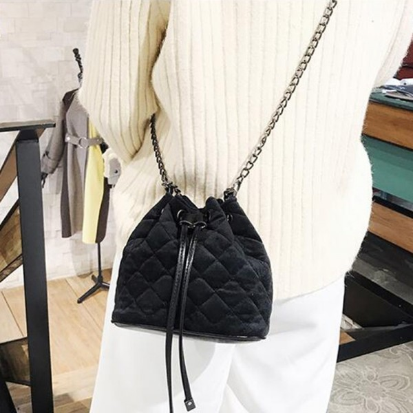 Vogue Star 2018 Collection Of Designer Fashion Chain Shoulder Bags Women Mini Handbags Bucket Tote Female Bag Extra Image 5