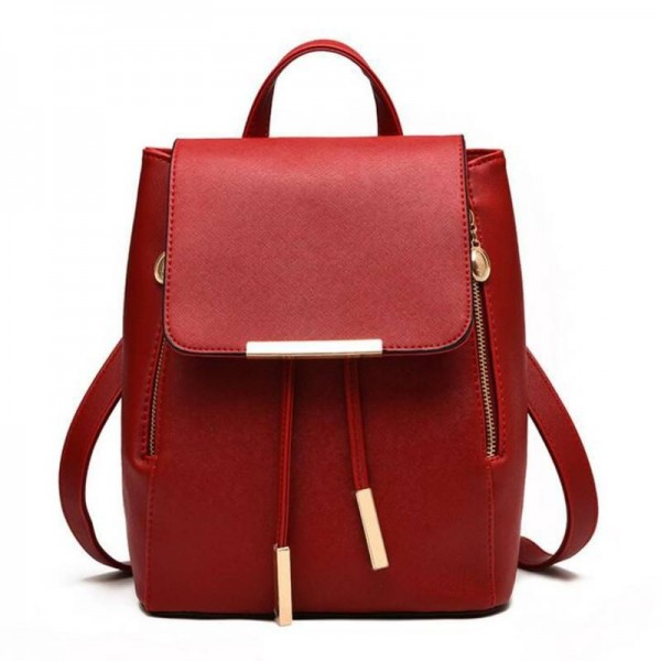 f30966ee09f6 Vogue Star Fashion Women Backpacks For Teenage Girls Leather School ...