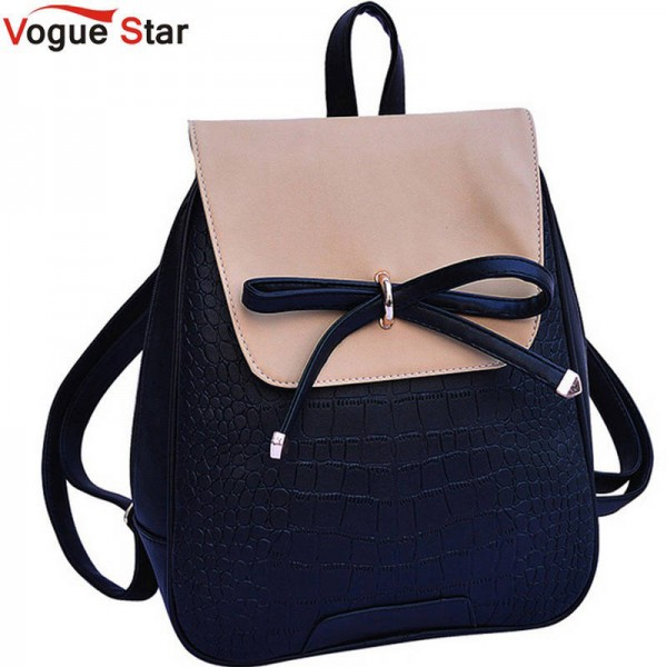 Vogue Star Hot Leather Backpack For Teenage Girls Top Quality School Bags New Arrival For Girls Thumbnail