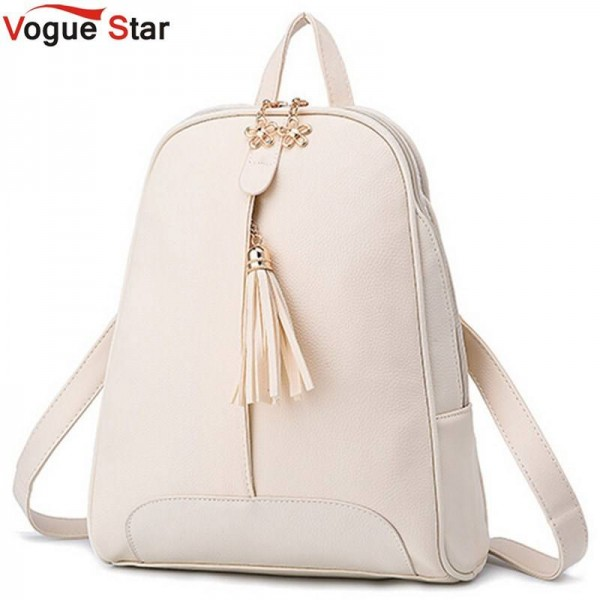 060cd76bef Vogue Star New Fashion Women Pu Leather Backpacks School Bags For College  Girls School Bags Thumbnail ...