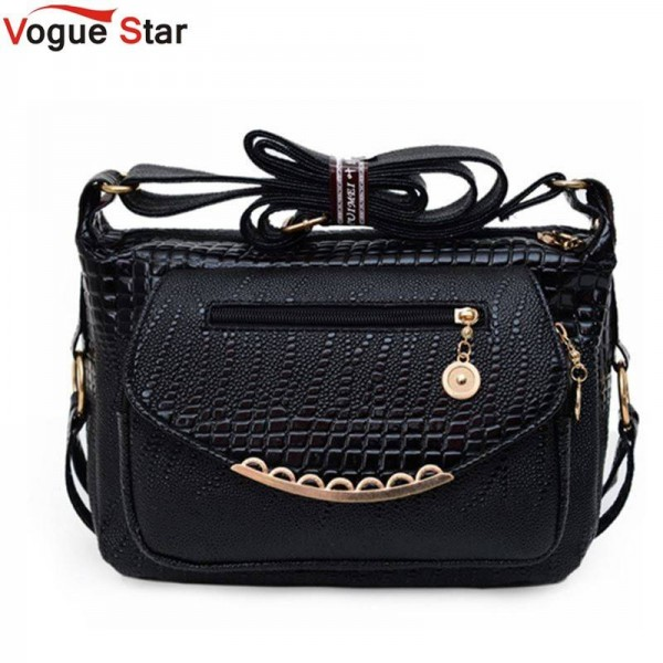 Vogue Star Stone Print Casual Bags Popular Small Messenger Bags Leather Shoulder Bags For Female Thumbnail