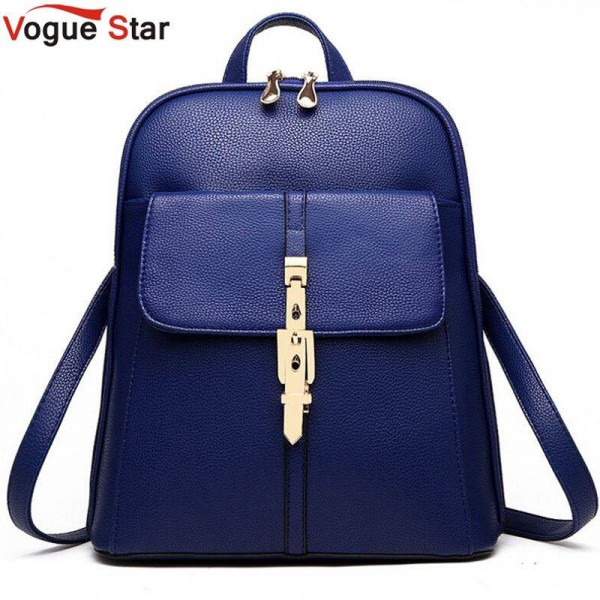 Vogue Star Women Backpacks New School Bags Ladies Travel Bags Top Quality Leather Bags Women Thumbnail