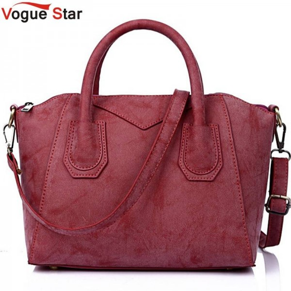Vogue Star Women Handbags Matte Leather Handbags High Quality Women Pouch High Capacity Bags Women Thumbnail