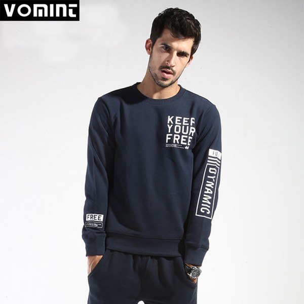 VOMINT Mens Hip Hop Sportswear Diamond Sweatshirts Hooded Mens Skateboard Pullover Hoodie Male Outwear Extra Image 4