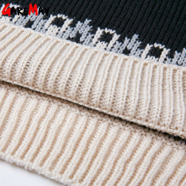 Warm Pattern Pullover Korean Retro Sweater Loose O Neck Knitted Pullover For Women Extra Images 5