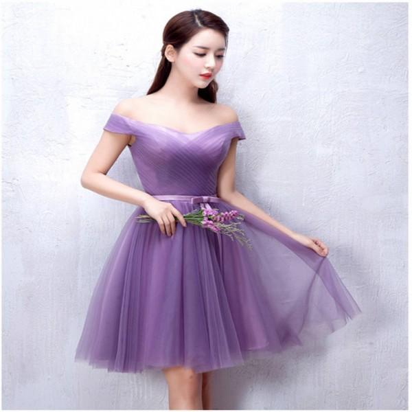 Weonedream Formal Flower Bridesmaid Dress For Wedding Occasion One Shoulder Bandage Prom Women