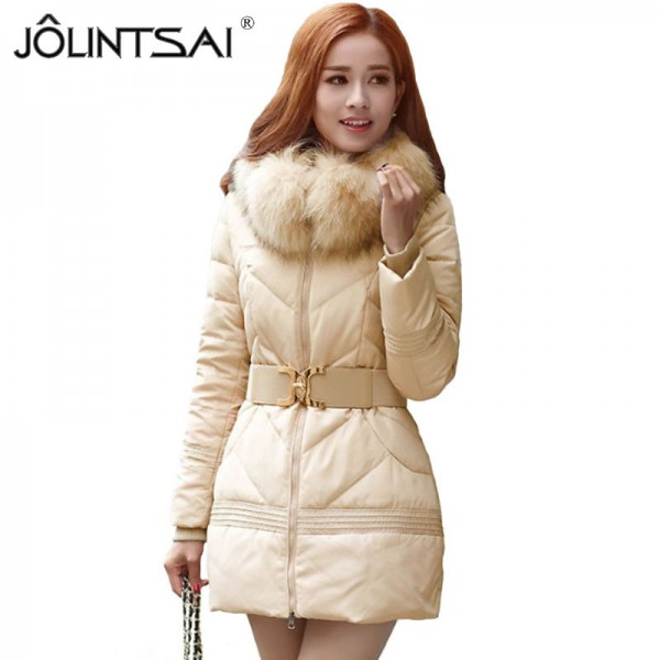 Winter Jacket Women Big Fur Hooded Parka Thick Cotton Winter Coat Women Outerwear Plus Size Parkas Jackets Female Extra Image 1