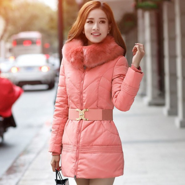 Winter Jacket Women Big Fur Hooded Parka Thick Cotton Winter Coat Women Outerwear Plus Size Parkas Jackets Female Extra Image 4