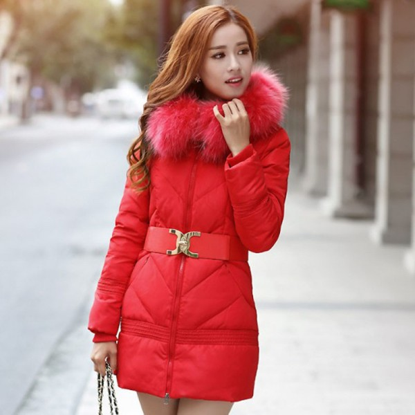 Winter Jacket Women Big Fur Hooded Parka Thick Cotton Winter Coat Women Outerwear Plus Size Parkas Jackets Female Extra Image 5