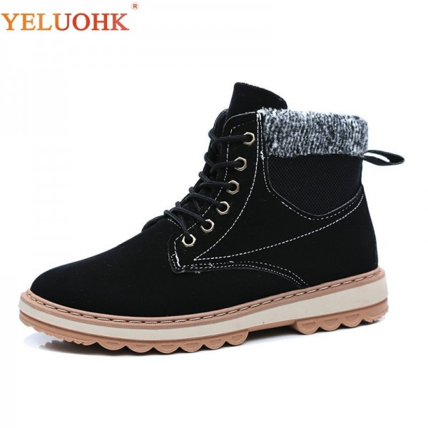 Winter Men Boots Fur Warm 2019 Men Shoes Winter Plush New Winter Boots Men Top Quality Leather Ankle Boots Extra Image 1
