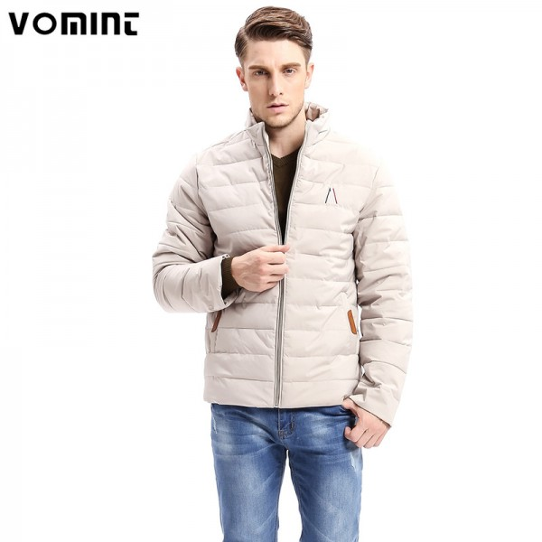 Winter New Men Business Fashion Parkas Smart Casual Jacket Zipper Button Bottom Design Thick Stand Collar Long Jackets Extra Image 1