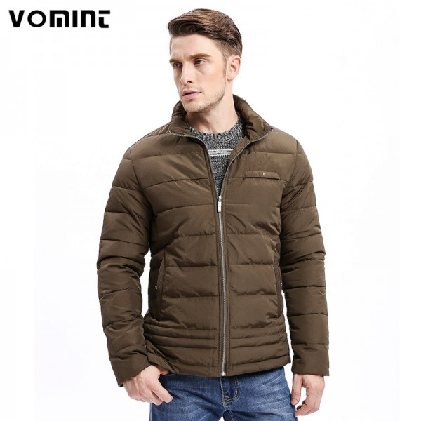 Winter New Men Parkas Smart Casual Jacket Zipper Button Bottom Design Thick Stand Collar Business Fashion Outwear Extra Image 1