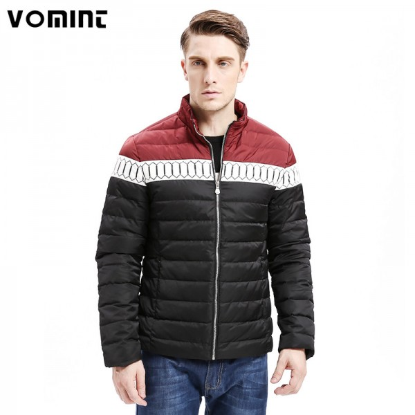 Winter New Mens Down Jacket Smart Casual Color Stitching Regular Fit Warm Down Coats Fashion Male Outwear Extra Image 1