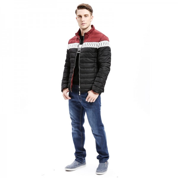 Winter New Mens Down Jacket Smart Casual Color Stitching Regular Fit Warm Down Coats Fashion Male Outwear Extra Image 5