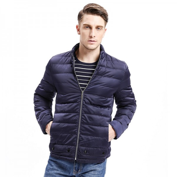 Winter Outfit New Men Jacket Parkas Zipper Classic Sewing Bottom Botton Pockets Casual Warm Coat Fashion Outfit