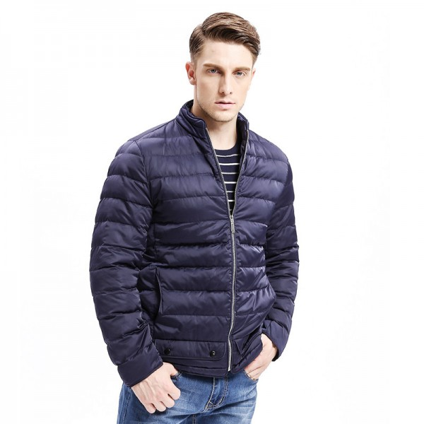 Winter Outfit New Men Jacket Parkas Zipper Classic Sewing Bottom Botton Pockets Casual Warm Coat Fashion Outfit Extra Image 3