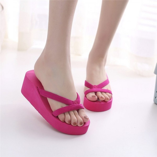 Women Flip Flops Slippers Summer Sandals Indoor Outdoor Slippers Jelly Shoes New Summer Shoes Home Slipper