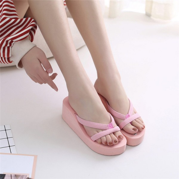 Women Flip Flops Slippers Summer Sandals Indoor Outdoor Slippers Jelly Shoes New Summer Shoes Home Slipper Extra Image 2