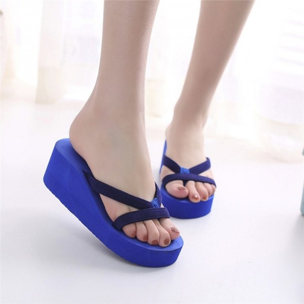 Women Flip Flops Slippers Summer Sandals Indoor Outdoor Slippers Jelly Shoes New Summer Shoes Home Slipper Extra Image 4